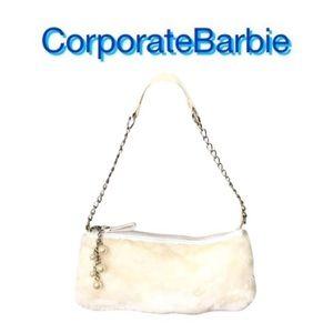 Handbags - Faux Fur Evening Bag